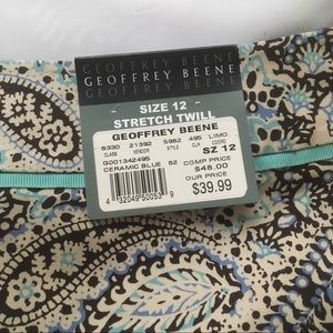 Geoffrey Beene Skirts - Geoffrey Beene Sport Stretch twill min skirt sz 12